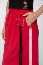OwnTheLooks Red Sweat Skirt (191A)