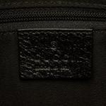 Gucci Black GG Canvas Hobo Bag (9JGUSH011)