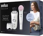 Braun Silk-Epil Beauty Set SES 7875 BS Wet & Dry Epilator