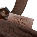 Gucci Brown Jackie Canvas Shoulder Bag (8LGUSH075)