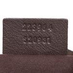 Gucci Brown Medium GG Crystal Mix Handbag (9DGUHB061)