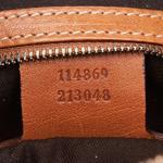 Gucci Light Brown Web Canvas Reins Hobo Bag (9DGUHO016)