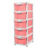 5 Tier Drawer With Wheels