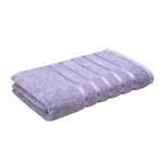 Lifestyle Plain Lilac Bath Towel - 70 x 140 Cm