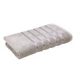 Lifestyle Plain Grey Bath Towel - 70 x 140 Cm