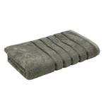 Lifestyle Plain Graphite Bath Towel - 70 x 140 Cm