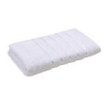 Lifestyle Plain White Bath Towel - 70 x 140 Cm