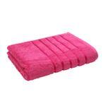 Lifestyle Plain Cerise Bath Sheet -  90 x 150 Cm