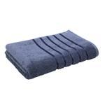 Lifestyle Plain Fre Navy Bath Sheet - 90 x 150 Cm