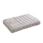 Lifestyle Plain Grey Bath Sheet - 90 x 150 Cm