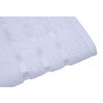 Lifestyle Plain White Bath Sheet - 90 x 150 Cm