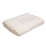Lifestyle Plain Cream Bath Sheet - 90 x 150 Cm