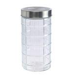 Bella Glass Jar With Metal Lid- 1550 ml