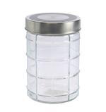 Bella Glass Jar With Metal Lid- 1100 ml