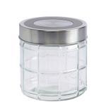 Bella Glass Jar With Metal Lid- 660 ml
