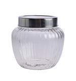 Bella Glass Jar & Metal Acrylic Lid- 1390 ml