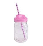 Bella Glass Jar & Metal Lid With Stand- 400 ml
