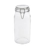 Bella Glass Jar And Lid With Zinc Clip- 2100 ml