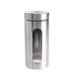 Bella Glass Jar With Stainless Steel Finish- 1240 ml