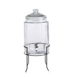 Bella Glass Jar And Lid With Plastic Tap- 5900 ml