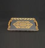 Deluxe Laser Cutting Tray- Gold
