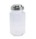 Bella Glass Jar With Metal Lid- 1020 ml