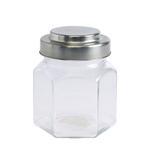 Bella Glass Jar With Metal Lid- 490 ml