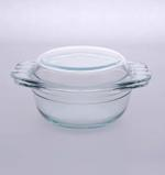 Byrex Dotted Handle Casserole With Lid- 0.75 L