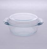 Byrex Dotted Handle Casserole With Lid- 1.4L