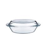 Byrex Oval Casserole With Lid- 2.0 L