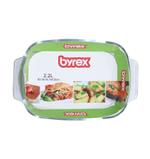 Byrex Rectangular Bake Dish With Dotted Handle- 2.0 L