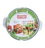 Byrex Round Casserole With Knob Lid 1.0 L