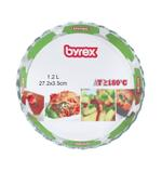 Byrex Round Oven Dish Without Cover- 1.5 L