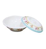 """Moments Life Wave Casserole Bowl With Cover - 10"""""""