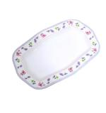 """Moments Charm Wave Rectangular Plate- 12"""""""