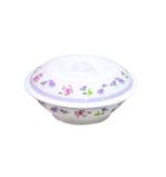 """Moments Charm Wave Casserole Bowl With Cover- 10"""""""