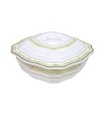 """Moments Luxury Edge Casserole Bowl With Cover - 10"""""""