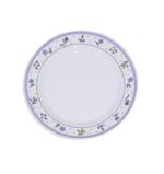 """Moments Lilac Rim Round Plate - 10.5"""""""