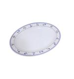 """Moments Lilac Oval Plate - 18"""""""