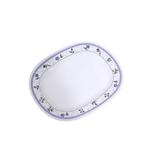 Moments Lilac Rectangular Plate - 10""