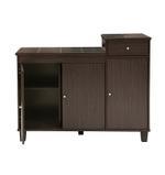 Della Kitchen Cabinet- Walnut