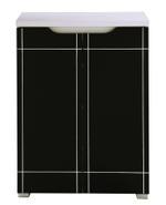 Cato Shoe Cabinet With 2 Doors - 60x33x84 Cm
