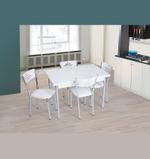 Snow 4 Seater Extendable Dining Set