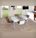 Rhythm 4 Seater Extendable Dining Set