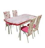 Rose 4 Seater Extendable Dining Set