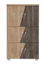 Shoes Cabinet With 2 Doors - 60x38x84 Cm