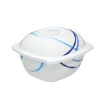 Moments Style Ocean Blue Casserole Bowl With Cover