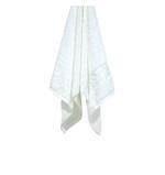 Bamboo Jacquard White Face Towel - 33 X 33 CM