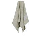 Bamboo Jacquard Beige Face Towel - 33 x 33 CM