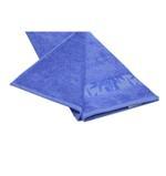 Bamboo Jacquard Corn Flower Blue Face Towel - 33 X 33 CM